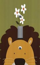 Light Switch Plate & Outlet Covers KID'S ROOM DECOR ~ PEEK A BOO LION ~ CUTE!