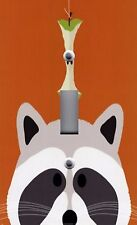 Light Switch Plate & Outlet Covers KID'S ROOM DECOR ~ PEEK A BOO RACCOON