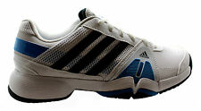 Adidas Barricade Team 3 Mens Tennis Shoes White Lace Up Trainers F32351 D38