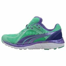 Puma Faas 600 S Wns Green Purple Womens Running Shoes Sneakers 18673407