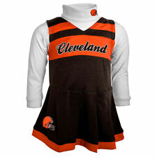 Cleveland Browns Girls Infant Brown Cheer Jumper