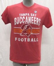 Tampa Bay Buccaneers Men's M, L, XL, 2XL Throwback Graphic T-Shirt NFL Red A14BR