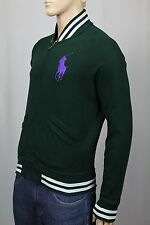 Polo Ralph Lauren Green Full Zip Sweatshirt Track Jacket Big Pony NWT