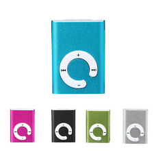 5 Colors Clip Metal USB MP3 Music Player Support Micro SD TF Card Music Media
