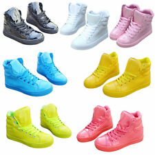 Women High fashion Candy Color Hip-hop Sport shoes Ankle Boots Casual Sneakers