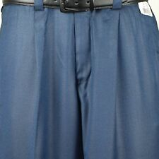 "Steve Harvey SLACK 38"" Waist  Solid Blue Dress Slack - PP28"