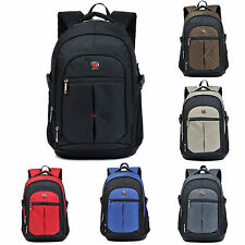 Men Women Business Casual Traveling Oxford Schoolbag Backpack Laptop Bag Daypack