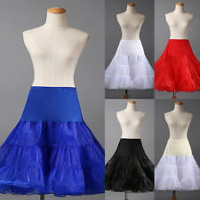 Women Ladies Wedding Bridal Prom UNDERSKIRT PETTICOAT VINTAGE SWING FANCY DRESS