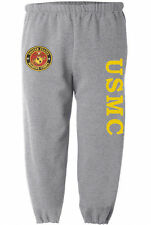 USMC sweatpants Men's size us marines sweats marine corps sweat pants gray