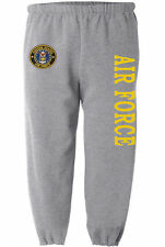 US Air Force sweatpants Men's size us air force sweats usaf sweat pants gray