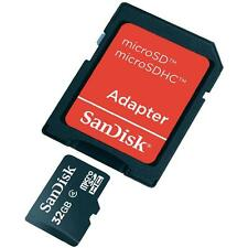 New 32GB Micro-SDHC Extra Memory Card For Canon PowerShot N,N2 Digital Camera