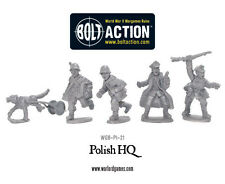 Warlord Games Bolt Action BNIB Polish Army HQ WGB-PI-21