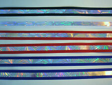 """5 yds of Bedazzle 7/8"""" Wide Offray Grosgrain Ribbon -4 Assorted Colors Available"""