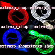Glow Visible LED USB Data Sync Charger Charging Cable Line Cord for iPhone 5 5S