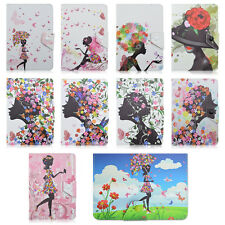 Girl Spread Wings Stand Leather Cover Case For Universal 7~7.8inch Tablet PC MID