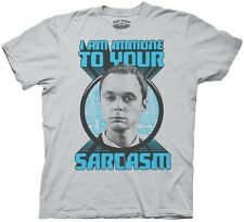 The Big Bang Theory Immune to Your Sarcasm TV Funny Adult T Shirt