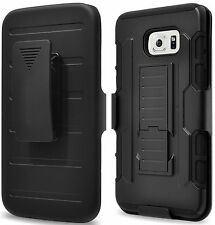 for Samsung Galaxy S7 S6/edge PLUS Note 5 Belt Clip Holster Belt Case Pouch Back