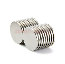 Lot Super Strong 25 mm x 2 mm N35 Round Disc Magnets Rare Earth Neodymium Magnet