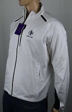 RLX Ralph Lauren White Full Zip Wimbledon Jacket Windbreaker NWT $195