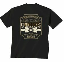 Vanderbilt Commodores Comfort Colors T-Shirt - Bow Tie - Color Black
