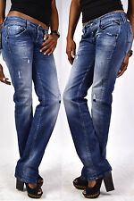 REPLAY Jeans WX661 NewSwenfani destroyed & repaired 443-646 Relaxed Jeans NEW