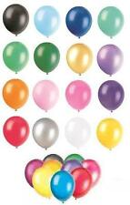 "24 x 12"" Pearlised/Metallic Latex Balloons (Party) ALL COLOURS"