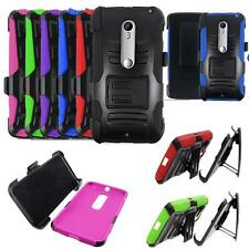 Phone Case For Verizon Motorola Droid Maxx 2 Holster Rugged Cover Stand