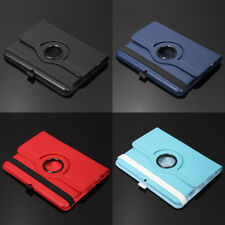 360 Rotating PU Leather Smart Folio Book Case For Amazon Kindle Fire HD Tablet 7