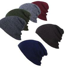 Winter Unisex Hat Beanie Hat Slouchy Baggy Mens Women Warm Knit Ski Cap Hats