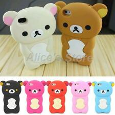 3D Bear Gel Rubber Soft Silicone back Case skin Cover For Apple Iphone 5 5S UK