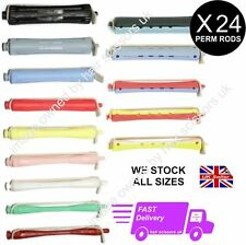 24 X PERM ROD ROLLERS CURLERS for perming hair. We stock ALL SIZES