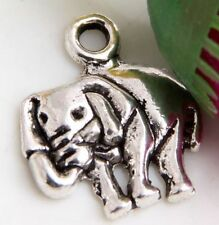 Wholesale 45/90Pcs Tibetan Silver Elephant Charms  16x14mm(Lead-free)