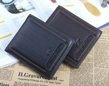 1PC leather Men ID Credit Card Holder Wallet Clutch Bifold Money Purse Pockets C