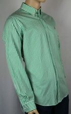 Ralph Lauren Green White Custom Dress Shirt NWT
