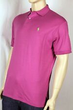 POLO Ralph Lauren Pink Mesh Shirt Green Pony NWT