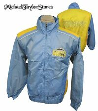 Denver Nuggets Men's L-2XL Full-Zip Lightweight Warm Up Jacket NBA Blue A8TR