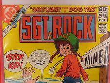 Sgt. Rock #357 (Oct 1981, DC) VF Comic Book
