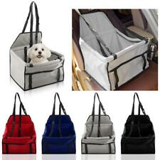 Pet Dog Cat Car Seat Carrier Booster Portable Soft Travel Bag Basket 5 Colors