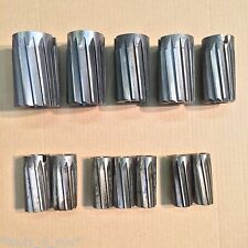 """Job Lot of Dormer Imperial HSS Shell Reamers 1 1/16"""" to 2 3/8"""" Engineering Tools"""