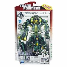 Transformers Generations IDW Mini-Con Assault Team Heavytread Runway Windshear