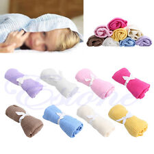 Soft Nursery Cotton Blankets Baby Receiving Blanket Swaddling Bed Sleeping Bag