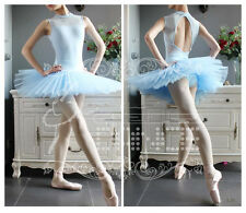 Profession Lady 7 Layers Organdy Dance Skirt Ballet Costume Tutu Lingerie B012