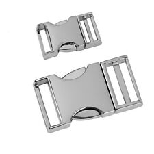 20mm 25mm 30mm Side Release Buckles Metal Clips For Webbing Bags Straps Hiking