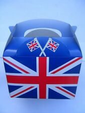 Union Jack Party Boxes Various Quantities 5 To 100 Food Lunch Card