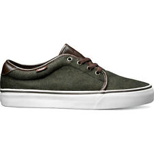 Vans 159 Vulcanised Tweed Leather Unisex Footwear Shoe - Hunter Green All Sizes