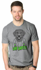 Mens Labrador Lab Safety Tshirt Goggles Hilarious Nerdy Dog Science Tee