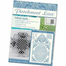 PARCHMENT LACE MAGAZINE ISSUE 2 FREE BIRDHOUSE GRID - 1st CLASS POSTAGE