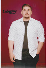 *SIGNED*  CHE CHESTERMAN - 12X8 PHOTO  (X FACTOR 2015)  AUTOGRAPH