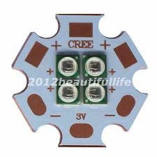 4W IR850nm 940nm 4Chips 3535  High Power LED Emitter on 20mm Copper Star PCB