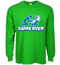 funny st patricks day t-shirt game over drunk drinking green st paddys day tee